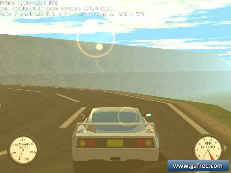 لعبة السباقات والسرعة Ultimate Stunts