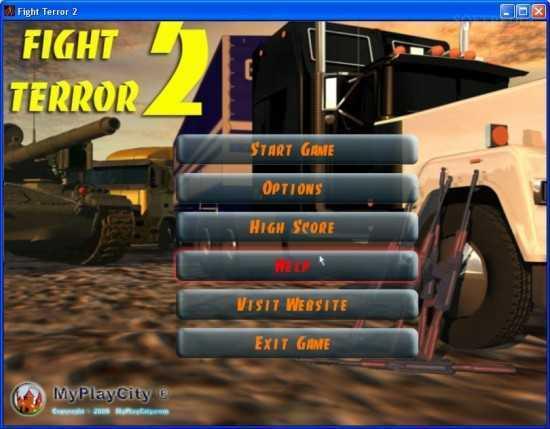 لعبة قناص المعركة Fight Terror