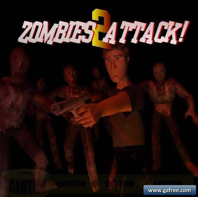لعبة هجوم الزومبي Zombies Attack II