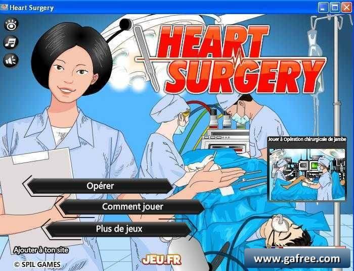لعبة العملية الجراحية Heart Surgery