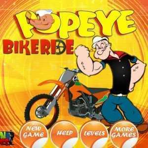 تحميل لعبة باباي PopeyeBikeride