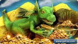لعبة التنين الاخضر الصغير Dragon-X: Gold Quest