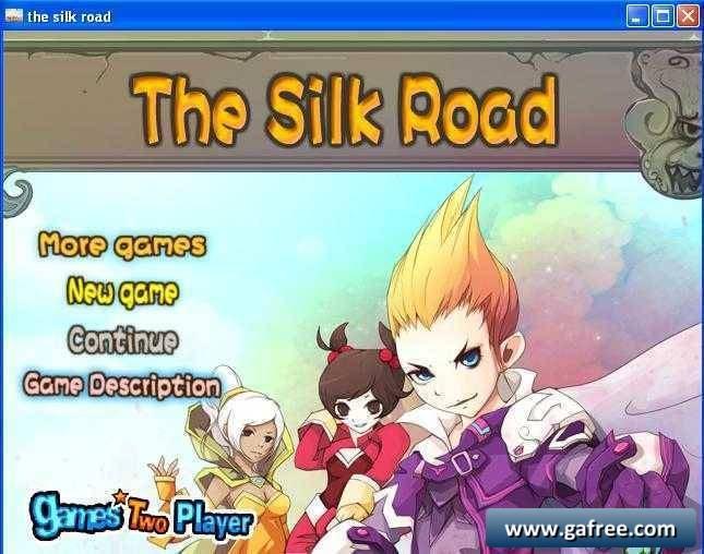 لعبة المهمات الحربية the silk road