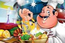 لعبة الطباخ المجنون CrazyCooking