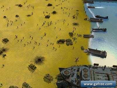 لعبة الحرب العالمية Sudden Strike Normandy