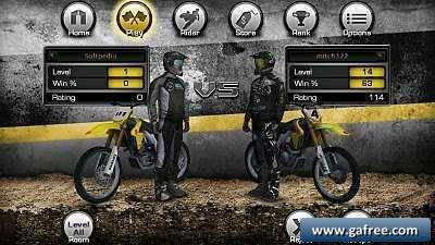 لعبة سباق الدرجات النارية الرهيب Ricky Carmichael's Motocross Matchup