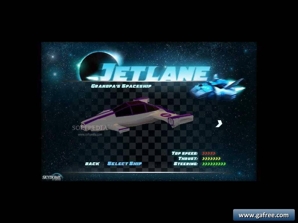 لعبة سباق الفضاء Jet Lane Racing 1.13