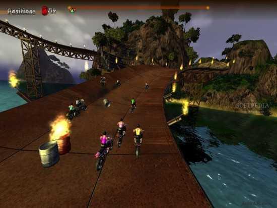 تحميل لعبة الدرجات النارية Extreme Motorbikers