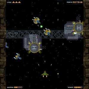 اللعبة الحربية Last Space Fighter