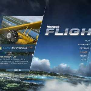 لعبة الطائرات و الطيران Microsoft Flight 1.0.0.30016