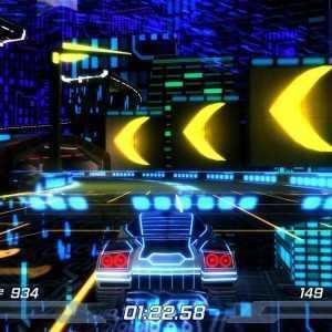 لعبة السباق الناري Nitronic Rush