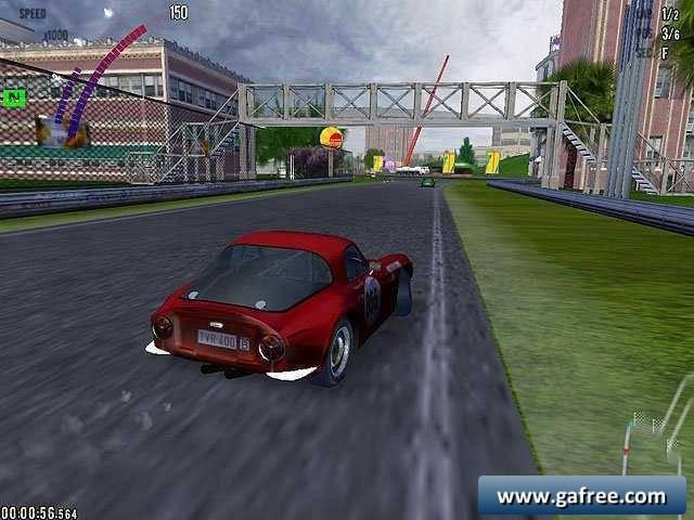 لعبة السباق الكلاسيكي Auto Racing Classics