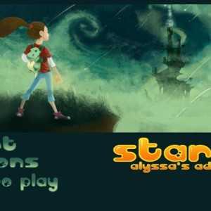لعبة مغامرات البنات Starfall
