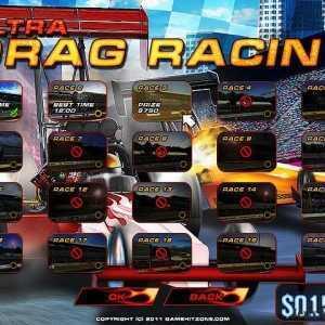 لعبة السباقات المجنونة Ultra Drag Racing