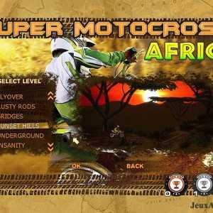 لعبة الدرجات النارية Super Motocross Africa