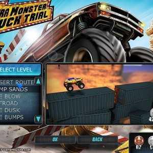 لعبة الشاحنات العملاقة Ultra Monster Truck Trial