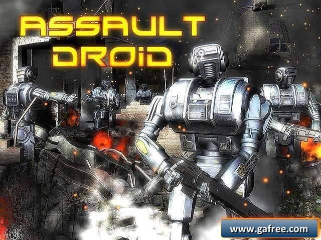 لعبة المقاتل المجنون Assault Droid