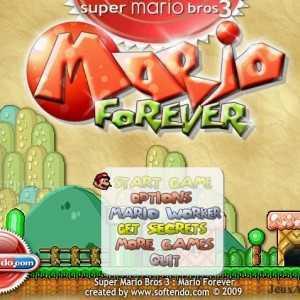 تحميل العاب سوبر ماريو Mario Forever