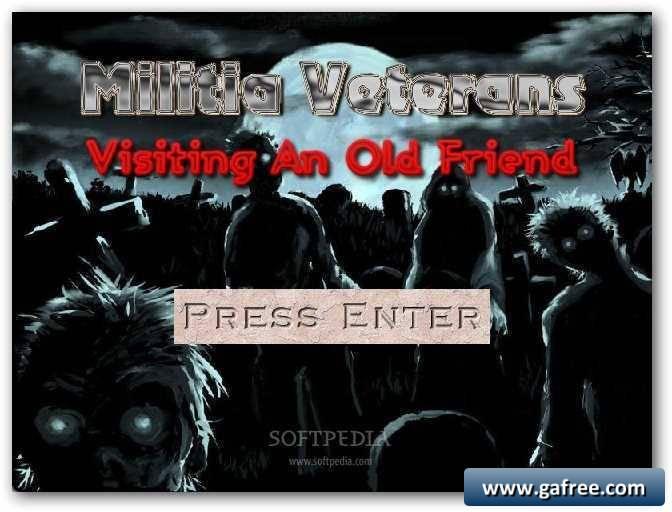 لعبة قتال الأشباح Militia Veterans Graveyard