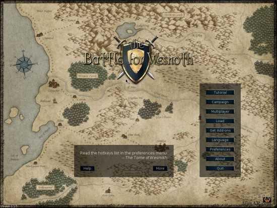 لعبة الحرب و القتال The Battle for Wesnoth