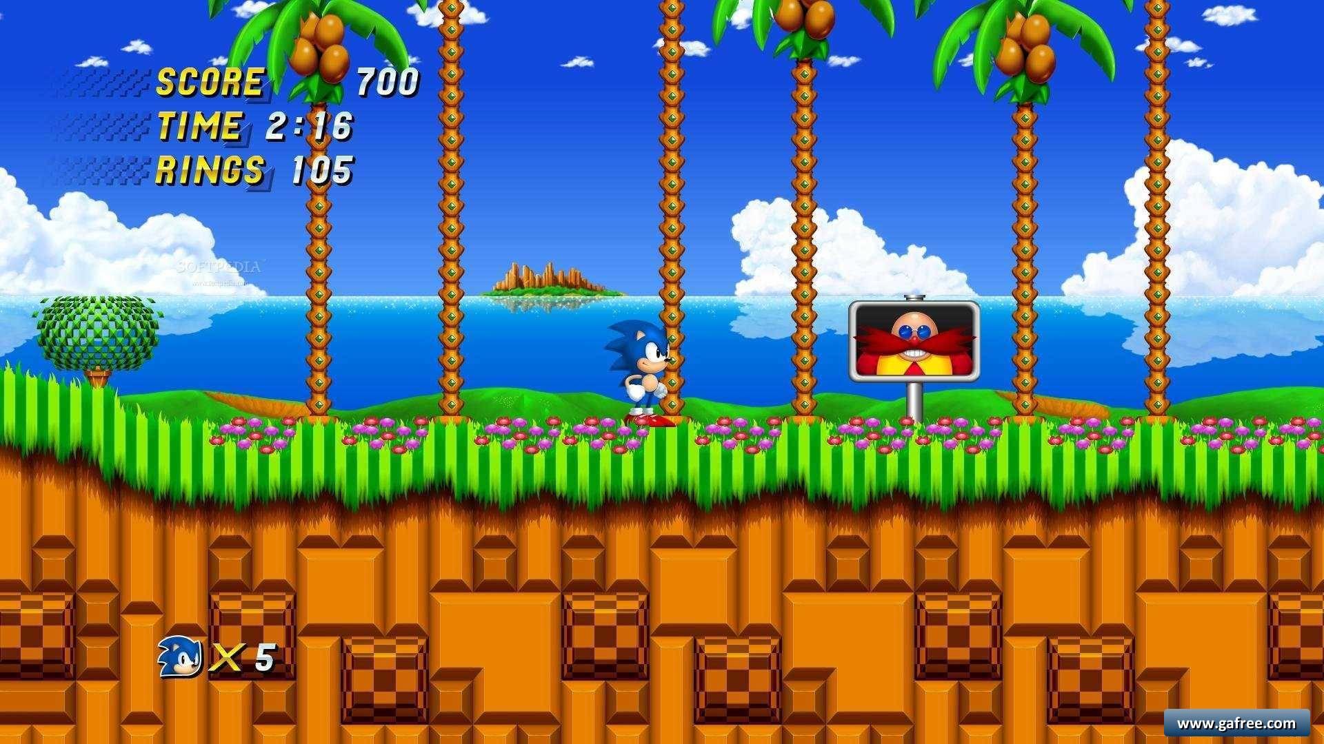 لعبة المغامرات Sonic 2 HD