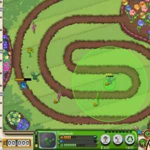 اللعبة الحربية Garden Defence