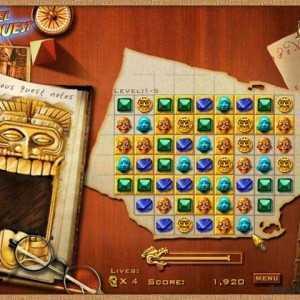 لعبة حظارة المايا Jewel Quest