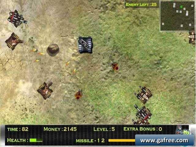 لعبة حرب الدبابات Furious Tank