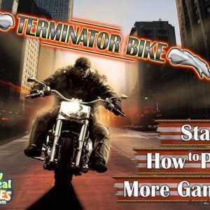 لعبة الدرجات النارية Terminator Bike