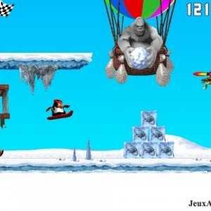 لعبة Penguin versus Yeti