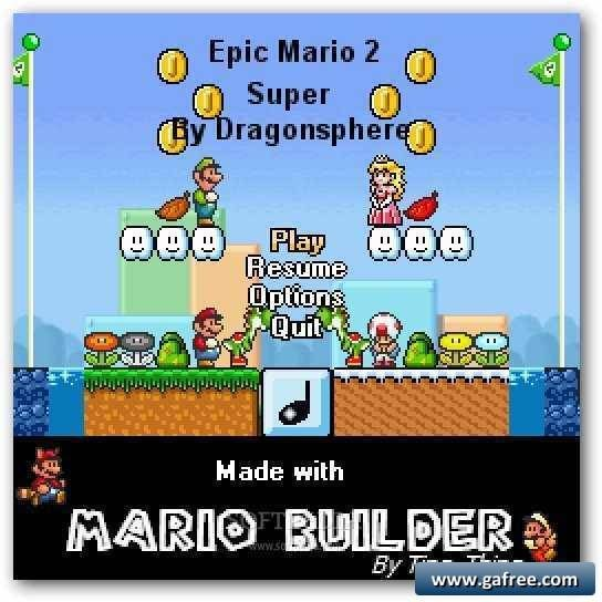 لعبة سوبر ماريو Epic Mario 2