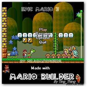 لعبة الأميرة و الوحش Epic Mario 3