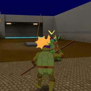 تحميل لعبة سلاحف النينجا Turtle Arena