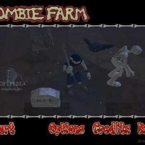 لعبة قتال الزومبي بالاسلحة Zombie Farm