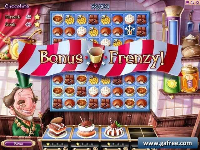 لعبة المعجنات و الطبخ و المهمات Pastry Passion