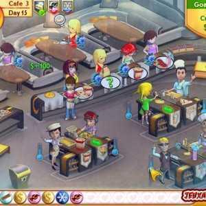 لعبة المقهى الجديد Amelie's Cafe