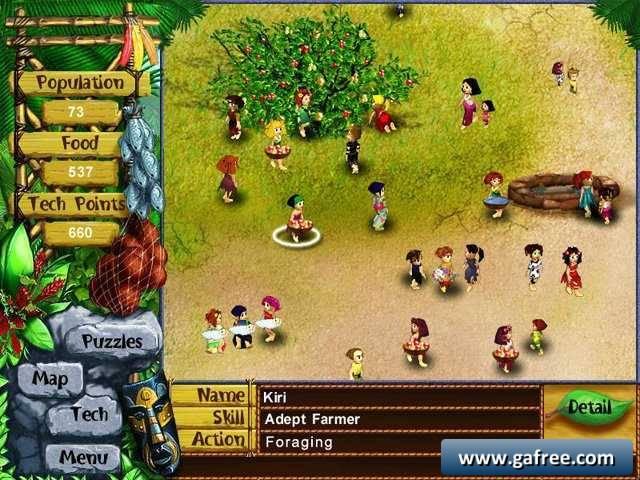 لعبة الحياة Virtual Villagers