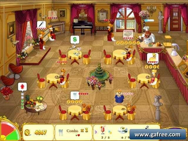 لعبة مطعم الحيوانات The Four Corners World