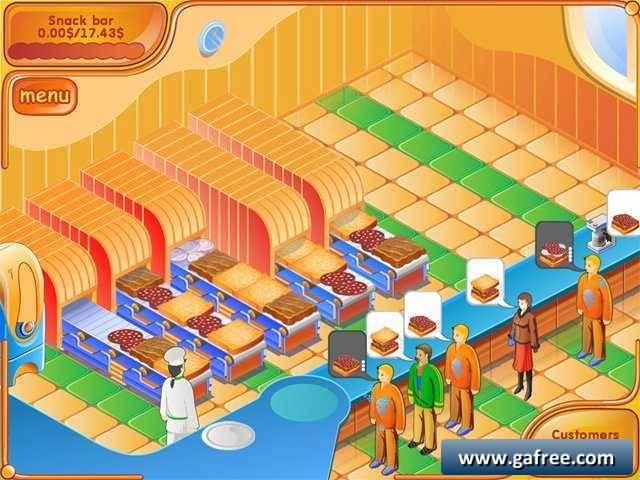 لعبة مطعم البرجر Burger Fiesta