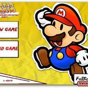 لعبة سوبر ماريو للتحميل Paper Mario Underground