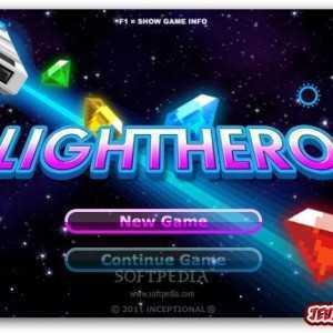 لعبة طائرة الفضاء Light Hero