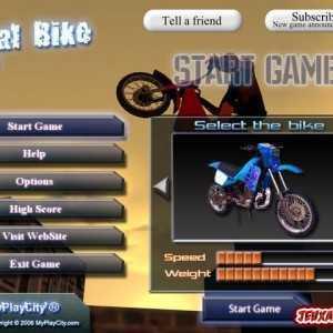 لعبة الدراجة النارية Trial Bike Ultra