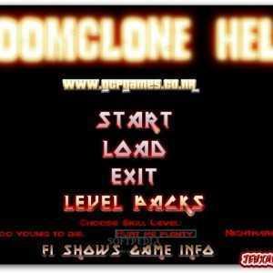 لعبة قتال النار DOOMclone Hell