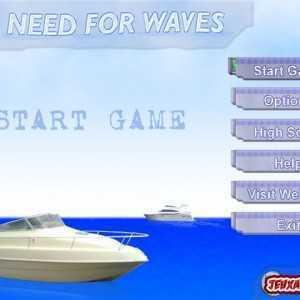 لعبة سباق الزوارق Need For Waves