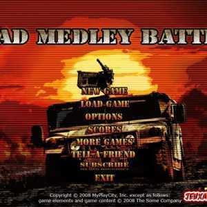 لعبة الشاحنة المقاتلة Mad Medley Battle