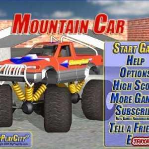 لعبة الشاحنة العملاقة Mountain Car