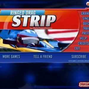 لعبة سباق Ringed Drag Strip
