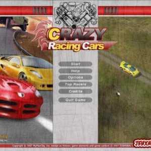 لعبة السباق Crazy Racing Cars