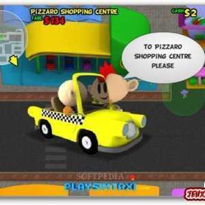 لعبة سيارة الاجرة Sim Taxi Bubble
