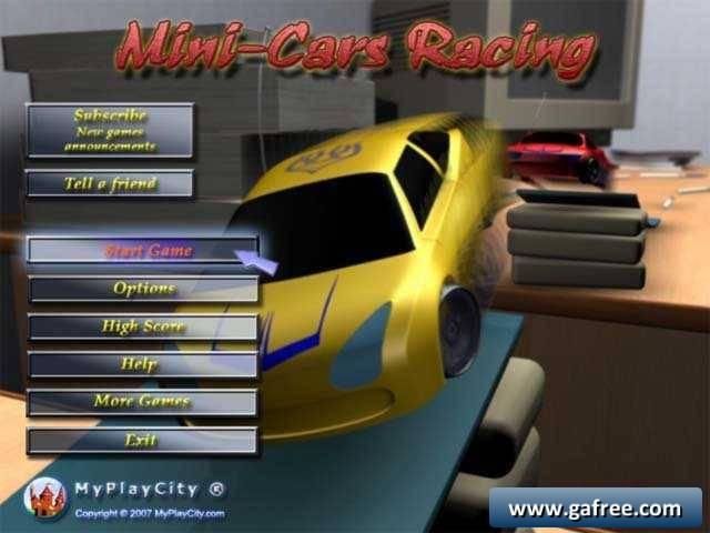 تحميل لعبة Mini-Cars Racing